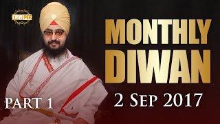 Part 1 - 2 SEPTEMBER 2017 MONTHLY DIWAN - G Parmeshar Dwar Sahib