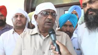 NEWS  19_05_16 PARKASH CHAND GARG MLA SANGRUR ASSASSINATION ATTEMPT ON DHADRIANWALE