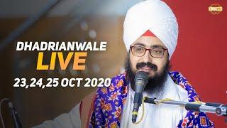 23 Oct 2020 Dhadrianwale Live Diwan at Gurdwara Parmeshar Dwar Sahib Patiala