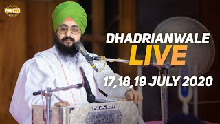 19 July 2020 - Live Diwan Dhadrianwale from Gurdwara Parmeshar Dwar Sahib