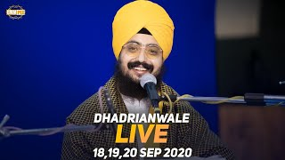 18 Sept 2020 - Live Diwan Dhadrianwale from Gurdwara
