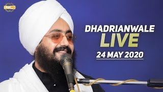 24 May2020 Live Diwan Dhadrianwale from Gurdwara Parmeshar