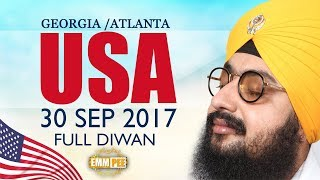 GEORGIA DIWAN - USA - 30 Sep 2017 - Full Diwan | Bhai Ranjit Singh Dhadrianwale