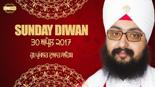 30 April 2017 - Sunday Diwan - G_Parmeshar Dwar
