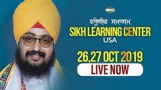 USA Diwan 27oct2019 eve - Sikh learning centre Guru Manyo Granth Chetna Samagam