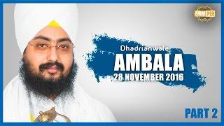 Sunho Benti Thakkur Mere Part 2 of 2 28_11_2016 Ambala Dhadrianwale