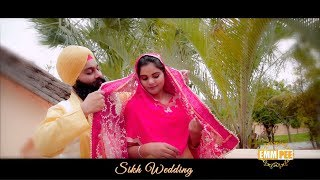 Highlights of Bhai Gurpreet Singh and Kuldeep Kaur - 2019 - Sikh Wedding | Dhadrian Wale