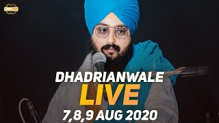 09 Aug 2020 - Live Diwan Dhadrianwale from Gurdwara