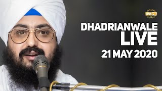 21 May 2020 Live Diwan Dhadrianwale from Gurdwara Parmeshar