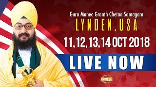 12 Oct 2018 - 2nd Day - Lynden - USA | Bhai Ranjit Singh Dhadrianwale