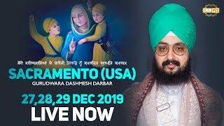 27Dec2019 Sacramento USA Samagam - Guru Manyo Granth Chetna Samgam | Bhai Ranjit Singh Dhadrianwale