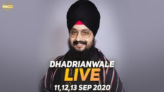 12 Sept 2020 - Live Diwan Dhadrianwale from Gurdwara