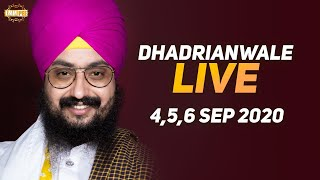4 Sept 2020 - Live Diwan Dhadrianwale from Gurdwara Parmeshar Dwar Sahib