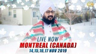 16Nov2019 Montreal Canada Diwan - Guru Manyo - Dhadrian Wale