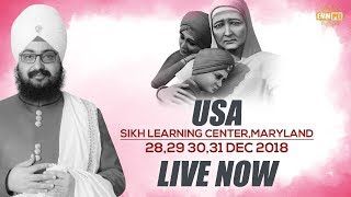 28 Dec2018 - Sikh Learning Center - Maryland - USA | Bhai Ranjit Singh Dhadrianwale