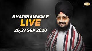 27 Sept 2020 - Live Diwan Dhadrianwale from Gurdwara