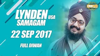 LYNDEN DIWAN  22 Sept 2017 - Full Diwan