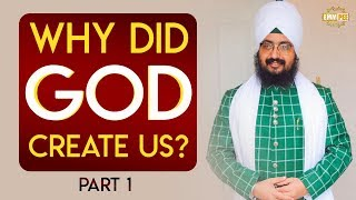 Part 1 - Why Did God Created Us