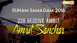 228 RECEIVE AMRIT Sunam Samagam 2016 1820 Aug Full HD Dhadrianwale