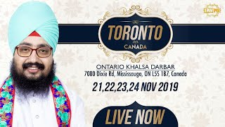 22Nov2019 Khalsa Darbar Ontario - Canada Diwan | Dhadrian Wale