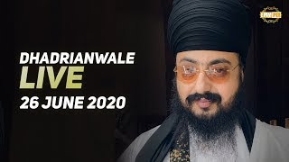 26 Jun 2020 Live Diwan Dhadrianwale from Gurdwara Parmeshar