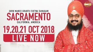 19 Oct 2018 - Day 1 - Sacramento CA - USA