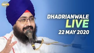22 May2020 Live Diwan Dhadrianwale from Gurdwara Parmeshar