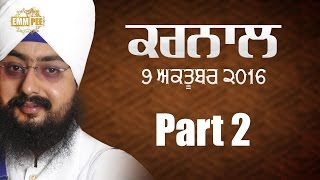 Antar Gur Aaradhna Part 2 of 2 9_10_2016 Karnal Full HD Dhadrianwale