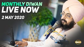 2 May 2020 - Monthly Diwan from Gurdwara Parmeshar Dwar Sahib | DhadrianWale