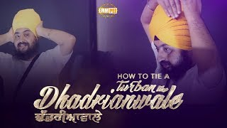 Coming Soon - How to tie a Turban like Dhadrianwale