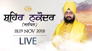 Day 1 - Nakodar - Jalandhar 18 Nov 2018
