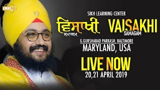 Vaisakhi Samagam - 20 April 2019 - USA | Dhadrian Wale